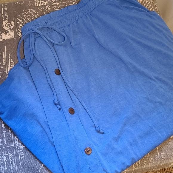 Lularoe Solid Blue Marsha Skirt